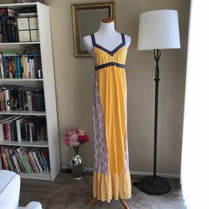 Amazing Element Boho Embroidered Summer Maxi Dress